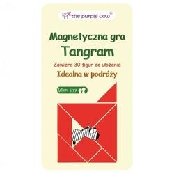 Podróżna gra magnetyczna, tangram, the purple cow