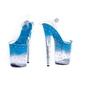 Buty erotyczne pole dance niebieskie : rozmiar buta - 40