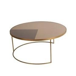 Notre monde :: stolik geometric bronze
