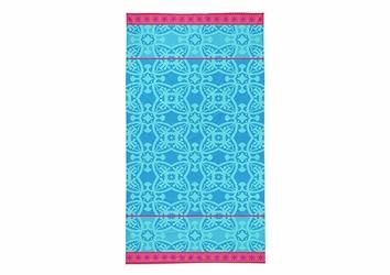 IBIZA NIEBIESKI ręcznik plażowy 90x160 Detexpol