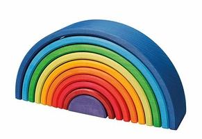 Kolorowa 10-elementowa tęcza zachód słońca 1+ Grimms