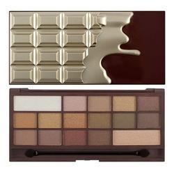Makeup revolution paleta cieni do powiek chocolate golden bar