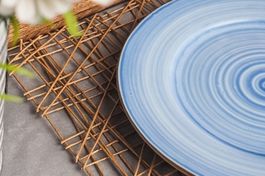 Krzysztof opty joy talerz deserowy 20 cm niebieski