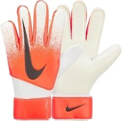 Rękawice bramkarskie nike gk match-su19 gs3372-101 biało-pomarańczowe