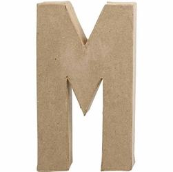 Litera z papier mache 20,5x2,5 cm - M - M
