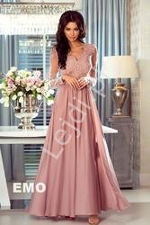 Suknia na wesele luna emo brudny róż