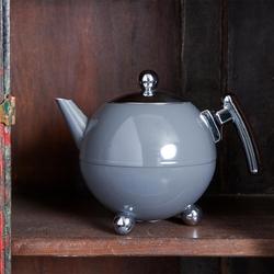 Dzbanek termiczny do herbaty 1,2 litra bella ronde bredemeijer szary 101003