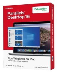 Corel parallels desktop 16 retail box 1yr acad eu