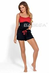 Piżama damska Babella Mirabella Czarna - Flamenco