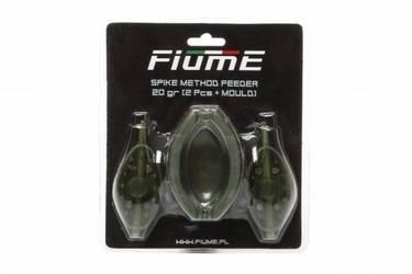 Zestaw Koszyk Spike Method Feeder Set 20+20gr+Forma FIUME