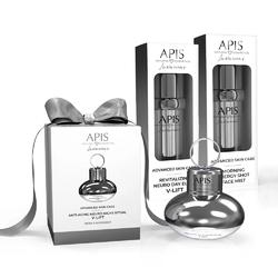 Zestaw kosmetyków v-lift apis advanced skin care z masażerem