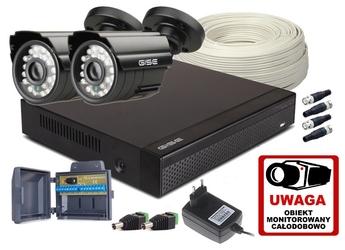 Zestaw 4w1,2x kamera HDIR20, Rejestrator 4ch FH - Szybka dostawa lub możliwość odbioru w 39 miastach