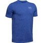 Koszulka chłopięca under armour cotton ss - niebieski