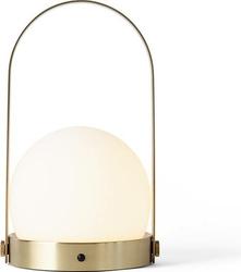 Lampa stołowa LED Carrie mosiądz