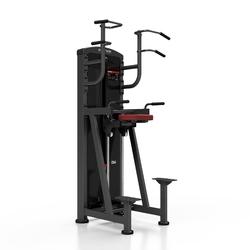 Maszyna do podciągania ze wspomaganiem mp-u231 - marbo sport - bordowy  antracyt metalic
