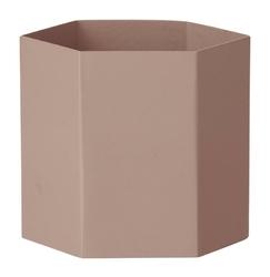 Doniczka Hexagon L różowa
