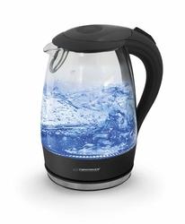 Esperanza Bezprzewodowy elektryczny czajnik szklany 1,7 L Salto Angel
