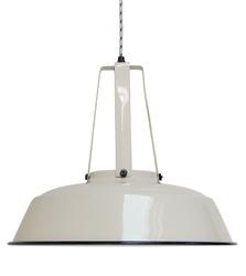 HK Living :: Lampa wisząca Workshop L Ø45cm - piaskowa - beżowy