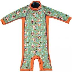 Close, Ocieplany kombinezon do pływania dla dziecka, Tygrys Ticky and Bert, X-Large 24-36 miesięcy