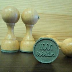 Stempel gumowy 25 mm - 100 miłości - MIŁOSS