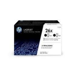 HP Toner 26X 9k CF226XD DWUPAK CZARNY