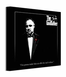 The Godfather Red Rose - Obraz na płótnie