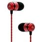 Soundmagic e50 kolor: czerwony