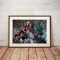Lady deadpool i wiewiór - plakat wymiar do wyboru: 59,4x42 cm