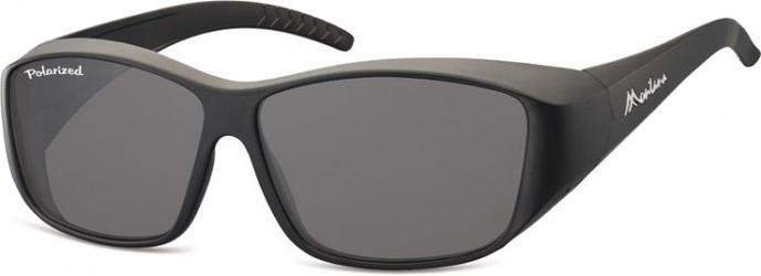 Czarne okulary z polaryzacją hd fit over dla kierowców, na okulary korekcyjne fo4