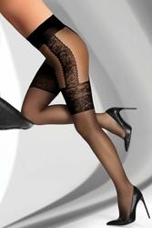 Livia Corsetti Agniska Black 20 DEN Rajstopy