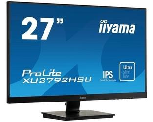 Iiyama monitor 27 cali xu2792hsu-b1 ips,full hd,hdmi,dp,vga,usb 3.0,slim