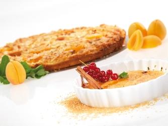 Zestaw do crème brûlée carmello gefu palnik gazowy, naczynia żaroodpor g-35360