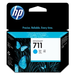 HP oryginalny tusz 711 niebieski