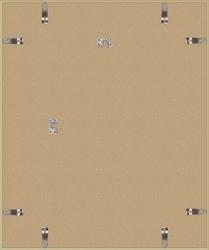 Złota rama aluminiowa 50x60 cm