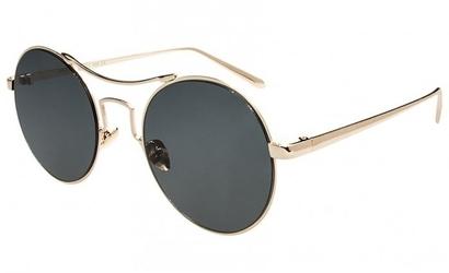 Damskie okragle okulary czarne pre-20d