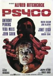 Psychoza Anthony Perkins, Janet Leigh - plakat