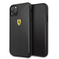 Ferrari etui hardcase fespchcn58cbbk iphone 11 pro czarny on track carbon effect