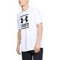 Koszulka męska ua gl foundation ss t - biały
