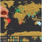 Mapa zdrapka deluxe travel edition