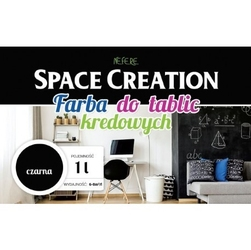 Farba tablicowa czarna  space creation 1 litr