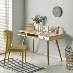 Bise biurko w stylu skandynawskim