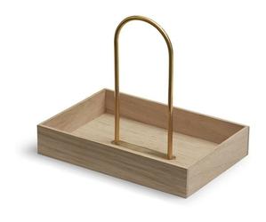 Pojemnik Norr drewno naturalne