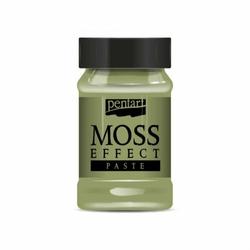 Pasta efekt mchu Pentart 100 ml - zielony jasny - zielony jasny