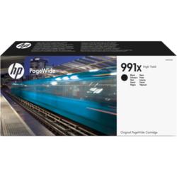 Oryginalny czarny wkład atramentowy HP 991X PageWide o dużej pojemności