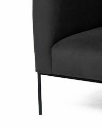 Fotel Blocket czarny
