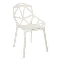 Krzesło gap pp białe simplet - biały
