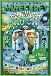Minecraft: overworld biome - plakat