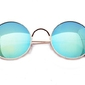 Okulary lenonki lustrzane 2024 hippie retro