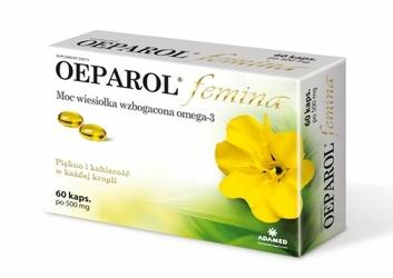 OEPAROL FEMINA 500mg x 60 kapsułek