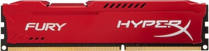 Hyperx ddr3 fury  8gb 1866 cl10 red